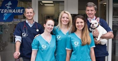 Vétérinaire Tournamy Mougins equipe